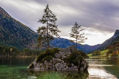 Insel im Hintersee