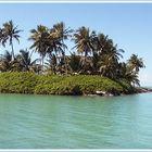 Insel mit versteckten Haus