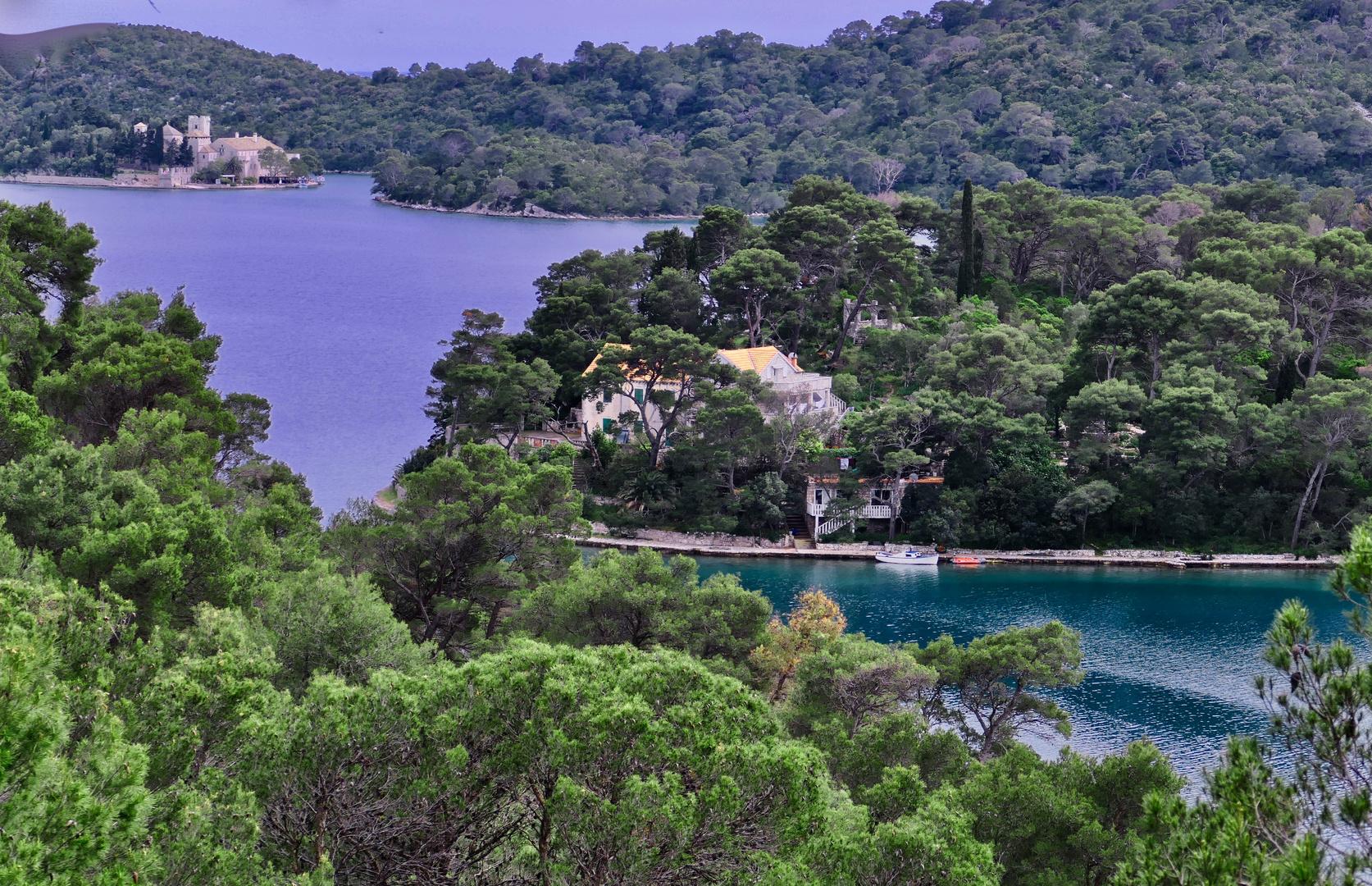 Insel Mljet - Nationalpark