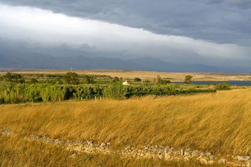 Insel Pag - Povljana - Wetterdiagonalen