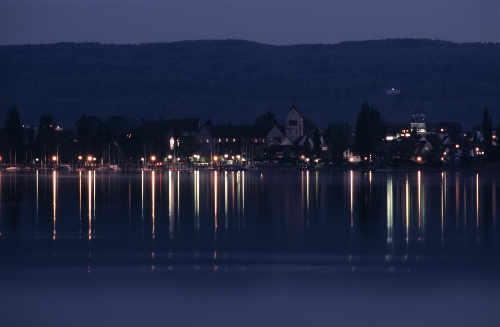 Insel Reichenau bei Nacht