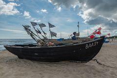 Insel Rügen am Strand von Baabe