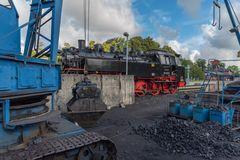 Insel Rügen Putbus Betriebshof der Bäderbahn