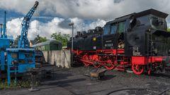 Insel Rügen Putbus Betriebswerk der Bäderbahn