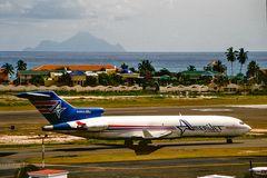 Insel Saba in Sicht