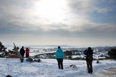 Inselblick Hiddensee -März