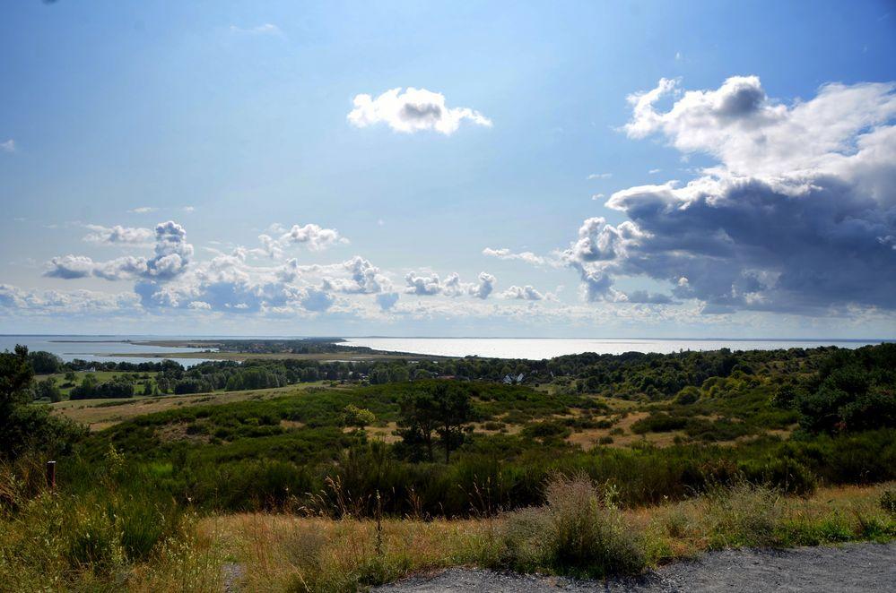 Inselblick im August