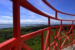 Inselblick vom Leuchtturm aus. (14 Juni 2010 )