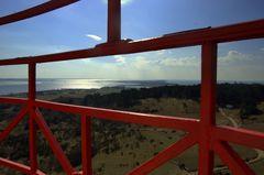 Inselblick vom Leuchtturm Dornbusch aus