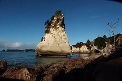 'Inselchen' am Cathedrals-Cove