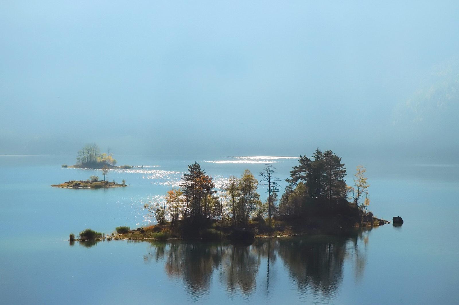 Inselchen im Eibsee