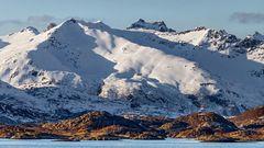 Inselgruppe der LOFOTEN zwischen Raftsund und Svolvaer