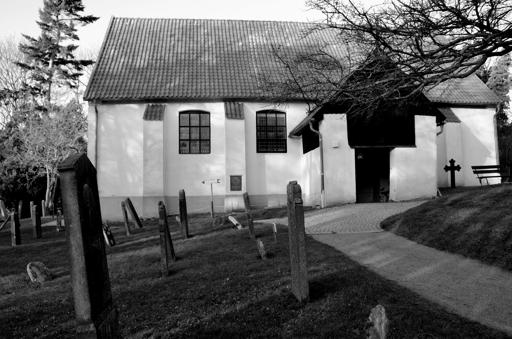 Inselkirche Kloster Insel Hiddensee