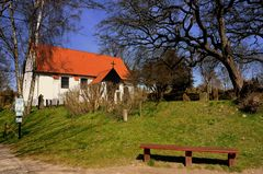 Inselkirche von der Insel Hiddensee