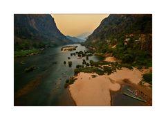 Insellandschaft bei Nong Khiao