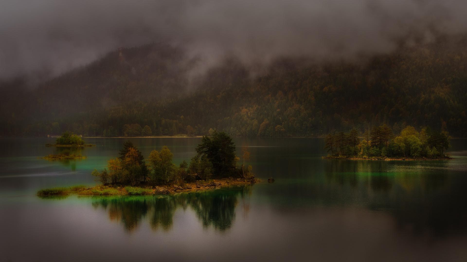 Inseln Im Nebel