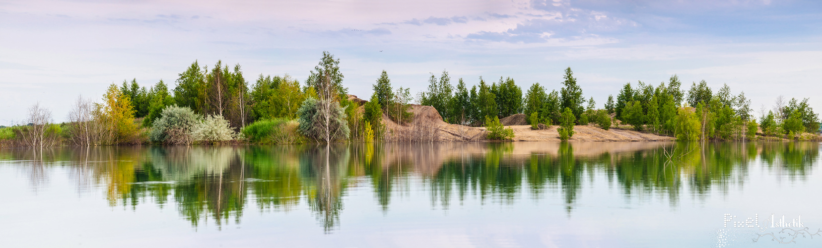 Inselparadies im Zwenkauer See