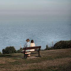 Insgesamt sitzt man viel zu wenig am Meer...