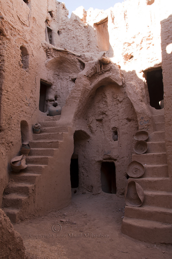 Inside 700 Years old castle