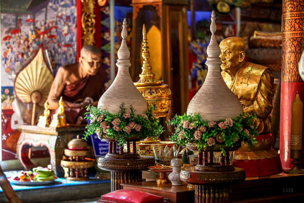 Inside buddhist Walls
