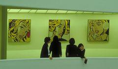 Inside Guggenheim, N.Y.