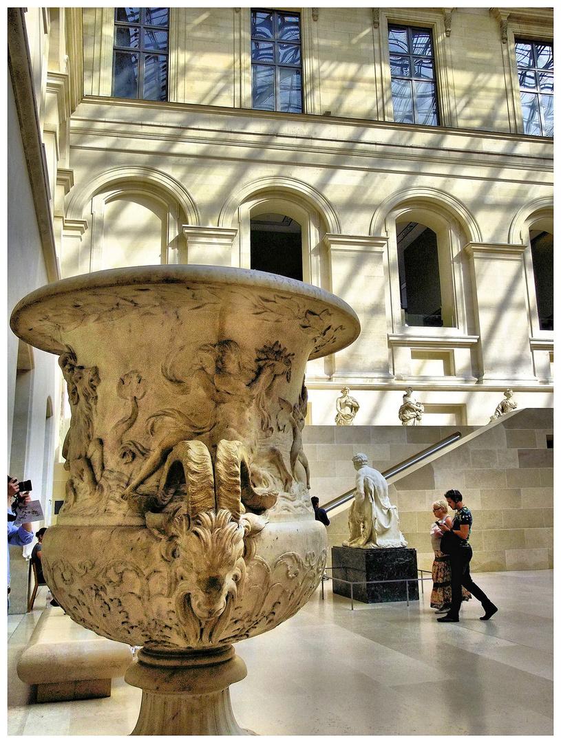 Inside Louvre