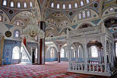 ... inside Moschee ...