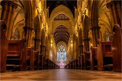 inside St Mary's Cathedral