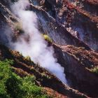 Inside Taal volcano crater, Philippines
