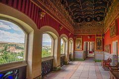 Inside the Alcazar of Segovia