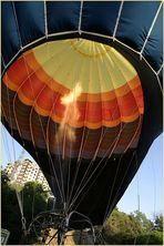inside the ballon