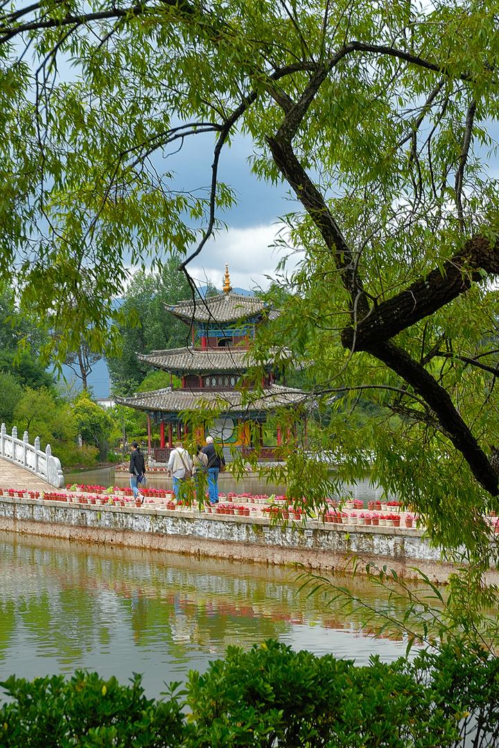 Inside the park of Yu Quan Gong Yuan