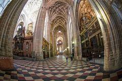 Inside the Segovia Catheral