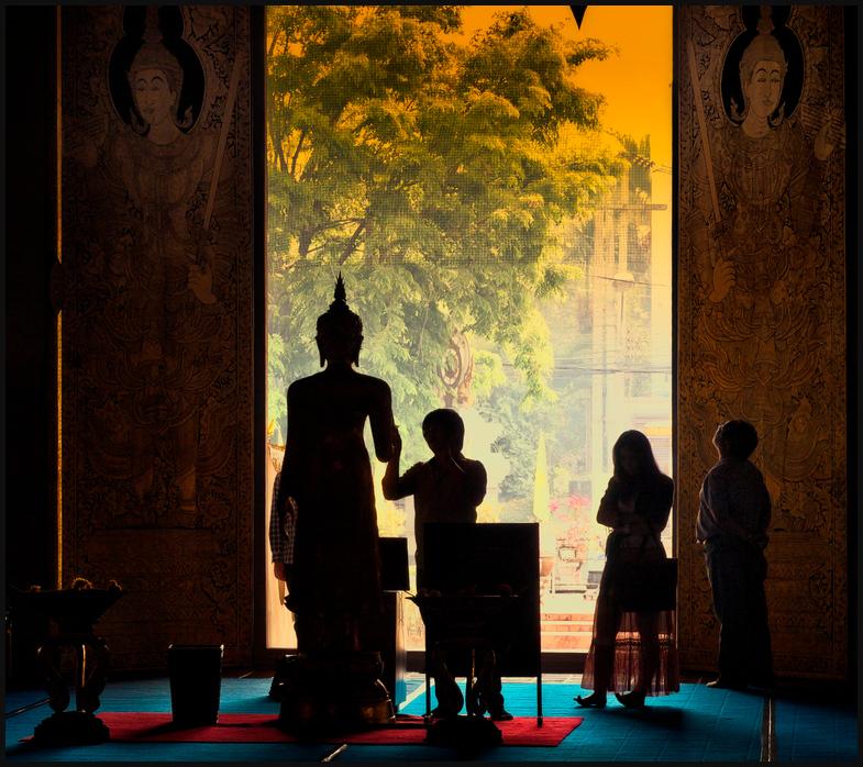 Inside * Wat Chedi Luang