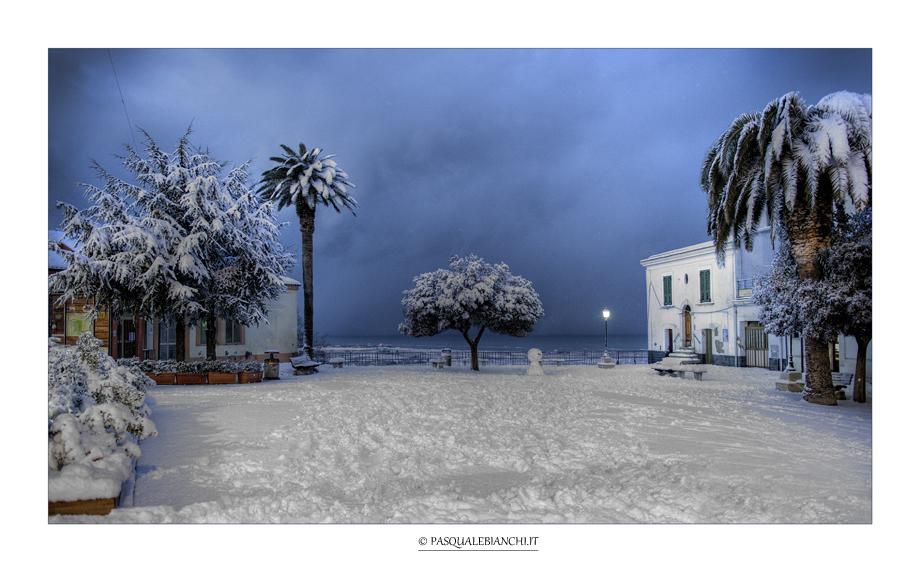 Insolita nevicata