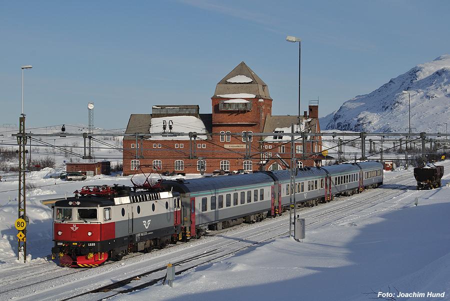 Intercity auf der Erzbahn