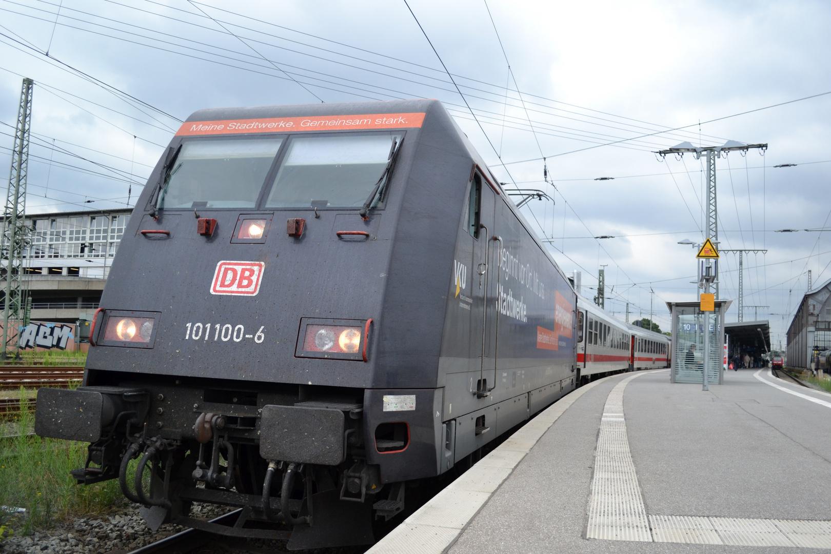 Intercity Schnellzug in Bremen
