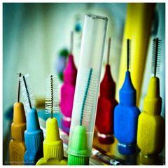 Interdentalbürsten: Was für zwischen die Zähne