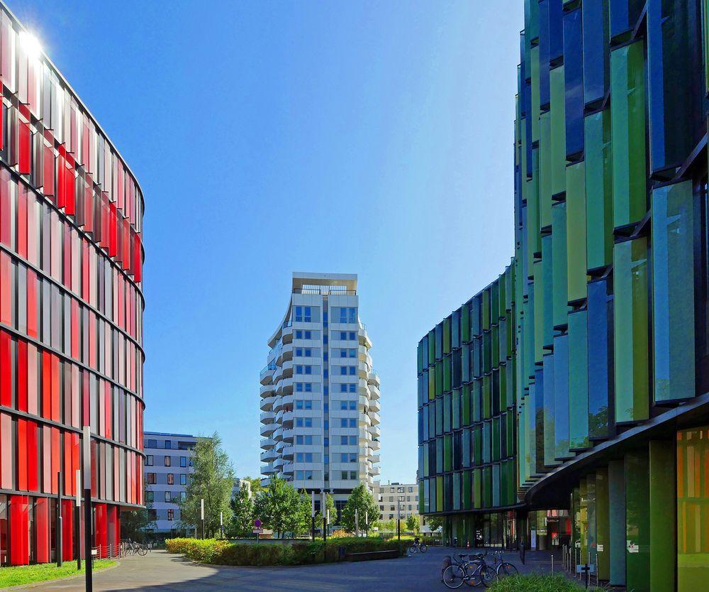 ... interessante Architektur in Köln -