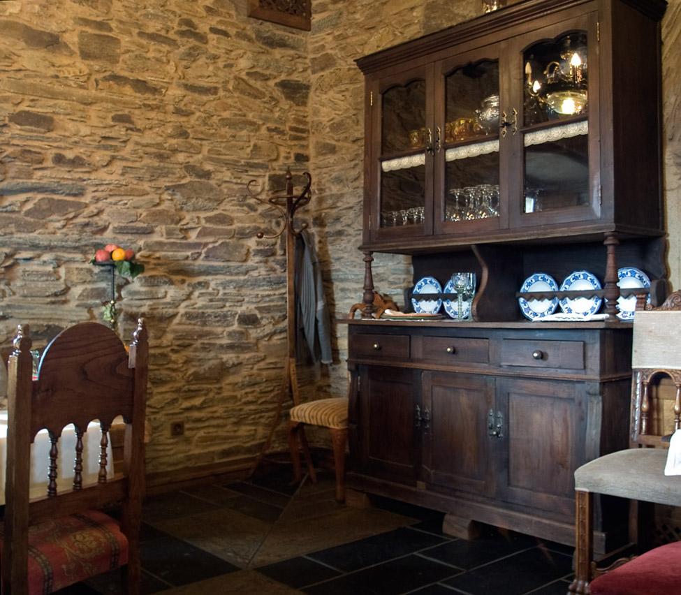 Interior casa gallega