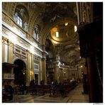 Interior de la Iglesia del Gesù