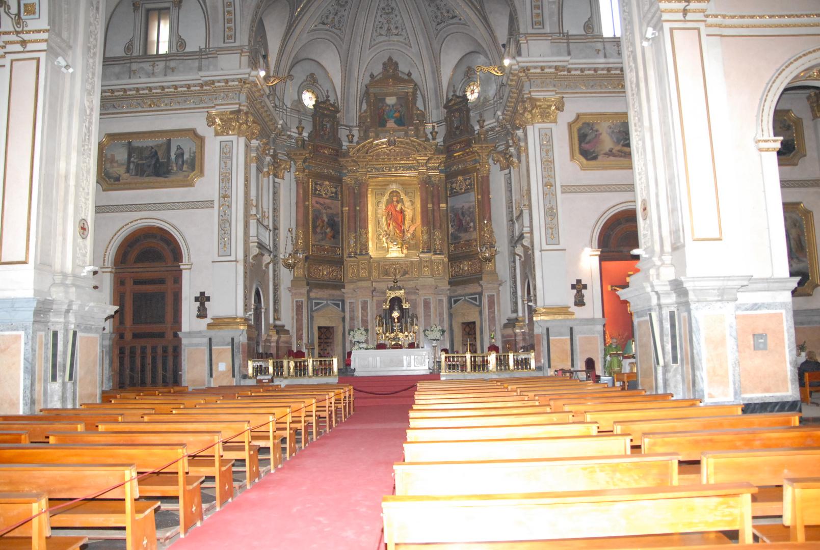Interior de la iglesia Sagrado Corazon de jesus ::Para Mª Jose Puig
