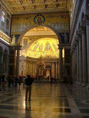 Interiore della Basilica di San Paolo fuori le mura