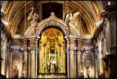 Interiore della Chiesa di S.to Antonio a Lisboa