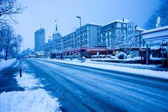 Interlaken am Morgen 16.01.2016
