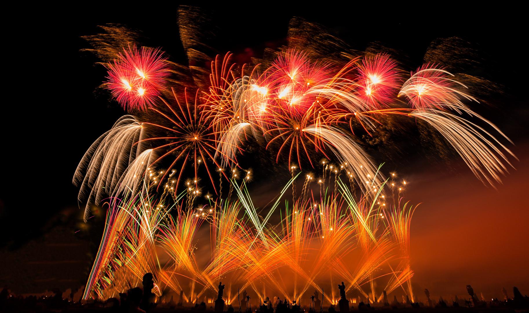internationaler Feuerwerkwettbewerb Hannover