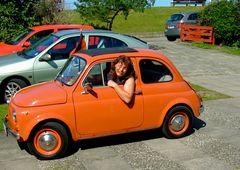 °°° Internationales Fiat 500 Treffen - Röttger hat eben nicht nur eine Segelyacht °°°
