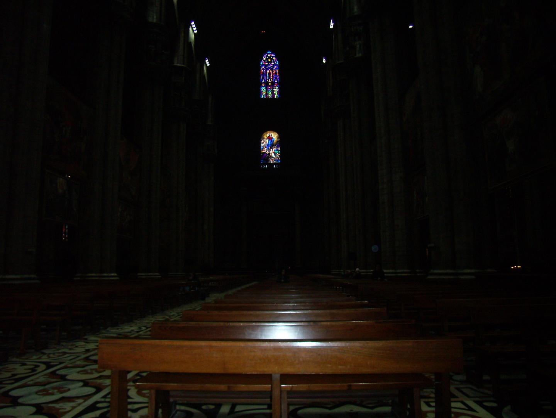 Interno Duomo di Milano