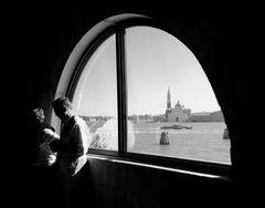 Interno veneziano con vista...