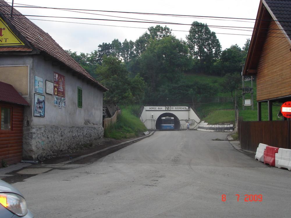 Intrarea in Salina de la Praid-Romania